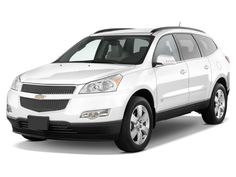 Chevy Traverse, one of the cars I'll be looking at this summer.