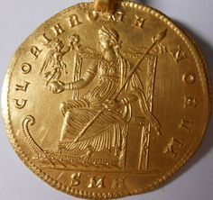 #Constantius II, AD 337-361. Gold  5 Solidus, original , eastern europe , private collection