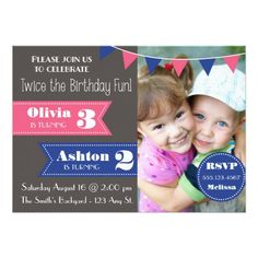 20 Joint Birthday Party Invitation Wording 6 In 2020 inside Double Birthday Invitations - Party Supplies Ideas Combined Birthday Parties, Joint Birthday Parties, Birthday Fun, Birthday Ideas, 17th Birthday, Birthday Photos, Birthday Party Invitation Wording, Disney Invitations, Kids Birthday Party Invitations