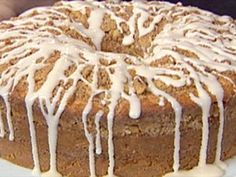 Get Sour Cream Coffee Cake Recipe from Food Network Sour Cream Coffee Cake, Coffee Cream, Vintage Coffee, Coffee Coffee, Baking Recipes, Cake Recipes, Salty Cake, Breakfast Recipes, Breakfast Items