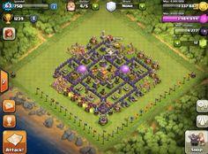 Clash of Clans   Top 5 TH7 Base Buildsz