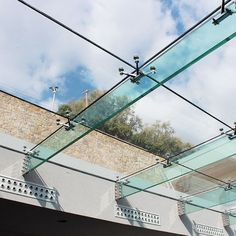 Structural Glass Roof with Glass Fins | GLASSCON GmbH – Architectural Building Skins, Façade Solutions, Curtain Walls, Glazing, Solar Shading, Brise Soleil