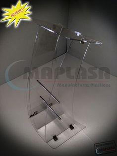 Nuevo Pódium de Acrílico http://www.maplasa.com/productos/podiums/VentadePodiumsdeAcrilico.php