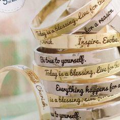 PB Teen bracelets
