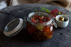 Roasted Eggplant, Red Bell Pepper and Tomato Confit recipe on Food52