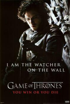 Game of Thrones - Jon Snow - Watcher Prints from AllPosters.com