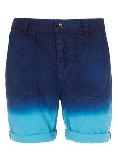 Dip Dye Chino SHorts (Topman)