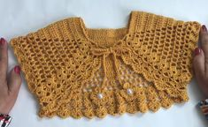 Crochet Bolero Jacket - Learn to Crochet - Crochet Kingdom In this tutorial we will make a Crochet Bolero Jacket, using the wire Anne of the Circle. Today we have instructions and video tutorial how to crochet bolero jacket in 1 hour. 46 new ideas moda pr Crochet Bookmark Pattern, Crochet Baby Dress Pattern, Crochet Bookmarks, Crochet Baby Clothes, Crochet Stitches Patterns, Tutorial Crochet, Knitting Patterns, Sewing Patterns, Crochet Girls