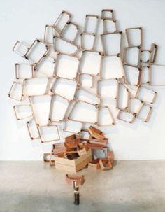 Peter Marigold Spilt Box Shelves