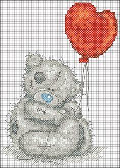 Raccolta di teneri orsetti a punto croce
