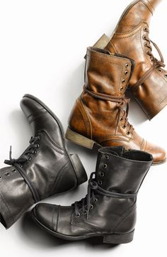 These are a MUST HAVE for Fall.  Steve Madden 'Troopa' Boot | Nordstrom