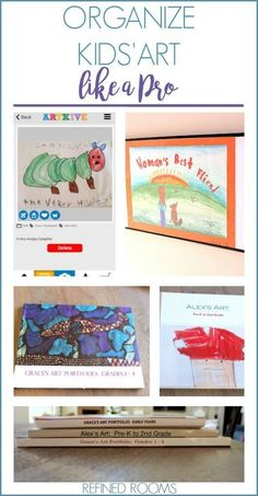 Overwhelmed by kids' art? Click here to see all of the options available for…