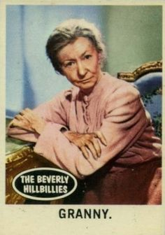 1963 Topps Beverly Hillbillies Granny Non-Sports - VCP Price Guide The Beverly Hillbillies, Old Tv Shows, Price Guide, Hillbilly, Best Memories, Trading Cards, Old School, Famous People, The Past