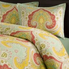 I kept seeing this on the @YHL blog and I finally checked it out.  I LOVE it!  The colors are beautiful in person and I can't wait to get my guest room finished!