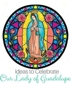 Our Lady of Guadalupe crafts and activities - perfect for Catholic families during this Advent season. Catholic Crafts, Catholic Kids, Catholic Saints, Religious Education, Religious Art, Religious Pictures, Catholic Feast Days, Lady Guadalupe, Religion