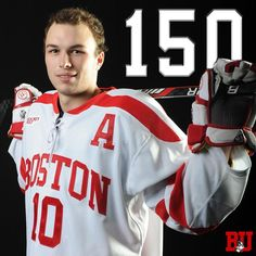 Big night for Danny O'Regan as he becomes the 18th Terrier - and first since Chris Drury - to record 150 career points! #ProudToBU by terrierhockey