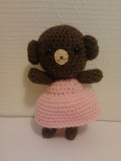 Crochet bear - gehaakte beer
