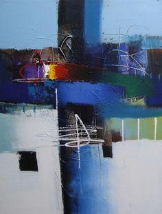 Un jour, une toile.... le 02 décembre 2014 Le mariage du bleu et du gris à travers cette peinture abstraite sur toile. Véritables huile sur toile sur châssis. Disponible en 50/60, 60/90 et 90/120 cm. Autres dimensions sur devis. http://www.peintures-sur-toile.com/tableau-gris-bleu-noir-abstrait-xml-244_343_362-4708.html