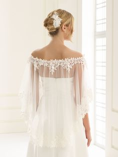 Bianco Evento manufactures beautiful wedding bridal dresses for women seeking the perfect blend of elegance and sophistication. Wedding Cape, Bridal Cape, Wedding Gowns, Bridal Dresses, Flower Girl Dresses, Bridesmaid Dresses, Pretty Dresses, Beautiful Dresses, Bridal Cover Up