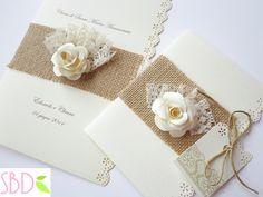 Partecipazioni di Nozze Shabby - Shabby Wedding Invitations - Sweet Bio design
