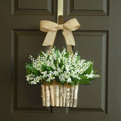 Spring wreath Lily Of The Valley wreaths front door wreaths Summer decorations wall decor wed., Spring wreath Lily Of The Valley wreaths front door wreaths Summer decorations wall decor wedding wreath birch bark vase Mother's day gifts, Summer Door Wreaths, Fall Wreaths, Wreaths For Front Door, Easter Wreaths, Wedding Wall Decorations, Wedding Wreaths, Decor Wedding, Diy Wreath, Wreath Ideas