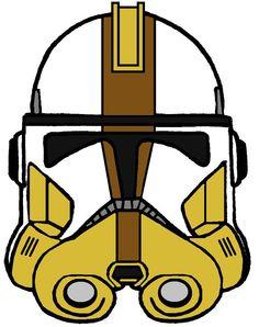 Clone Commander Bly's Helmet 2