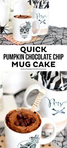 How to make a quick Pumpkin Chocolate Chip Mug Cake