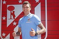Mario Mandzukic (CRO) - From Bayern Muenchen (GER to Atletico Madrid (ESP) - 2014