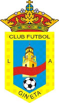 1992, La Gineta CF (La Gineta, Castilla-La Mancha, España) #LaGinetaCF #LaGineta #Castilla #LaMancha (L19717) Soccer World, Club, Illustrations And Posters, Brand Design, Football Soccer, Nasa, Sport, Logos, Football Equipment