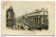 An poster sized print, approx (other products available) - London - The General Post Office. Date: circa 1906 - Image supplied by Mary Evans Prints Online - Poster printed in the USA Fine Art Prints, Framed Prints, Canvas Prints, General Post Office, Online Images, Photographic Prints, Wonderful Images, London England, Poster Size Prints