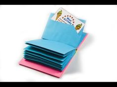 DIY: Paper Notebook! How to make a paper modular book | Mini DIARY - YouTube