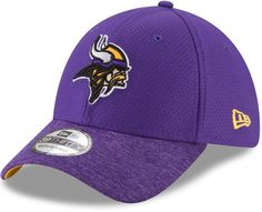 detailed look e2983 356b2 New Era Adult Minnesota Vikings 39THIRTY Popped Shadow Flex-Fit Cap Fitted  Caps, Minnesota