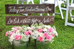 Pick a Seat Not a Side - Wedding Ceremony Seating Sign - Wedding Sign on Etsy, $59.99