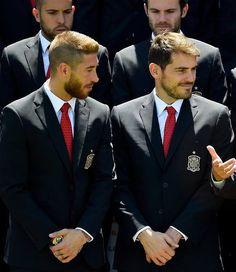 Sergio Ramos  Iker Casillas #spain #worldcup2014