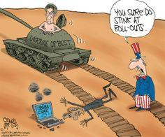 Cartoon: Putin Rolls-out Obamacare