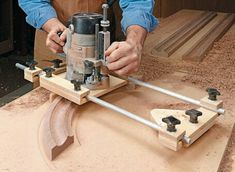 Woodworking is a job, for which one requires to work with precision and skill. Mistakes during woodworking may spoil the whole piece. In woodworking, there are some things, which should be done repeatedly. woodworking jigs are tools, Router Jig, Wood Router, Router Woodworking, Woodworking Techniques, Woodworking Projects, Tenon Jig, Router Table, Woodworking Furniture, Furniture Plans