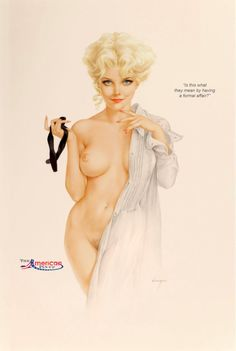 Opinion alberto vargas pussy you