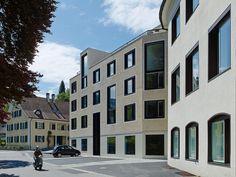 best architects architektur award // DornerMatt Architekten / DornerMatt Architekten / Wohn- und Geschäftsgebäude Thalbachgasse 4 / Wohnungsbau/Mehrfamilienhäuser