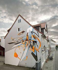 Daim | Street Art | Graffiti Art | Graf | 3D