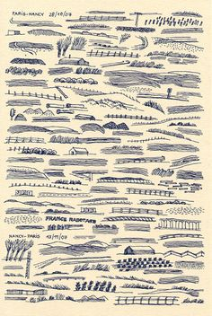 Grande Vitesse (2007) carnet de dessins ferroviaires (septembre 2005 - janvier 2008), l'Association, 2009. - collection Claudine et Jean-Marc Salomon -