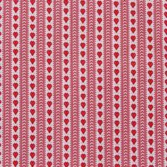 Rood/wit Zeeuws bont 06 met ingeweven patroon ook wel Zeeuws Schortenbont genoemd. 100% katoen, 140 cm breed geschikt voor kleding, schort, accent op een slabbe