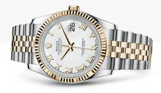 Rolex 18K Yellow Gold Day Just Watch
