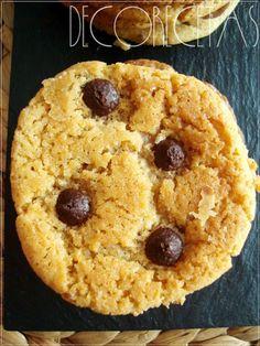DECORECETAS: Maxi-Cookies de chocolate
