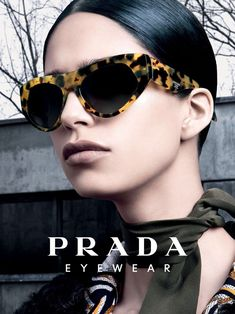 Prada Eyewear Fall Winter 2014 Women Campaign