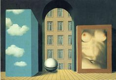 Act of violence, 1932 by Rene Magritte, Brussels pre-war and war years. Surrealism. symbolic painting
