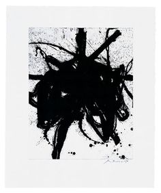 robert motherwell, lift ground + aquatint