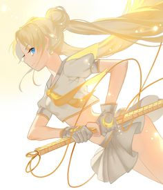 Pretty Guardian in a Sailor Suit Girls By Daylight by J
