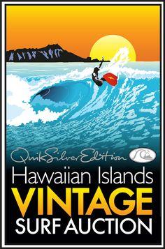 vintage surf poster - Google Search