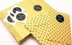 Sticker -  FOR YOU, 40 mm, rund - ein Designerstück von Emadam bei DaWanda