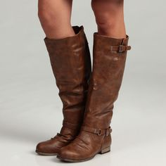 I have these in gray, WANT them in cognac! So comfortable with my wide feet and thick legs
